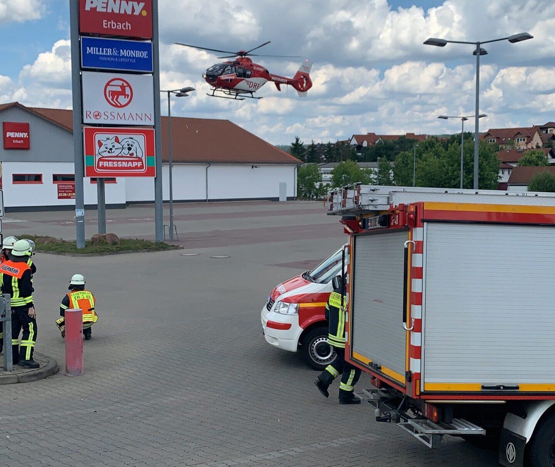 21.06.2020 Absicherung Hubschrauberlandung (12-20)