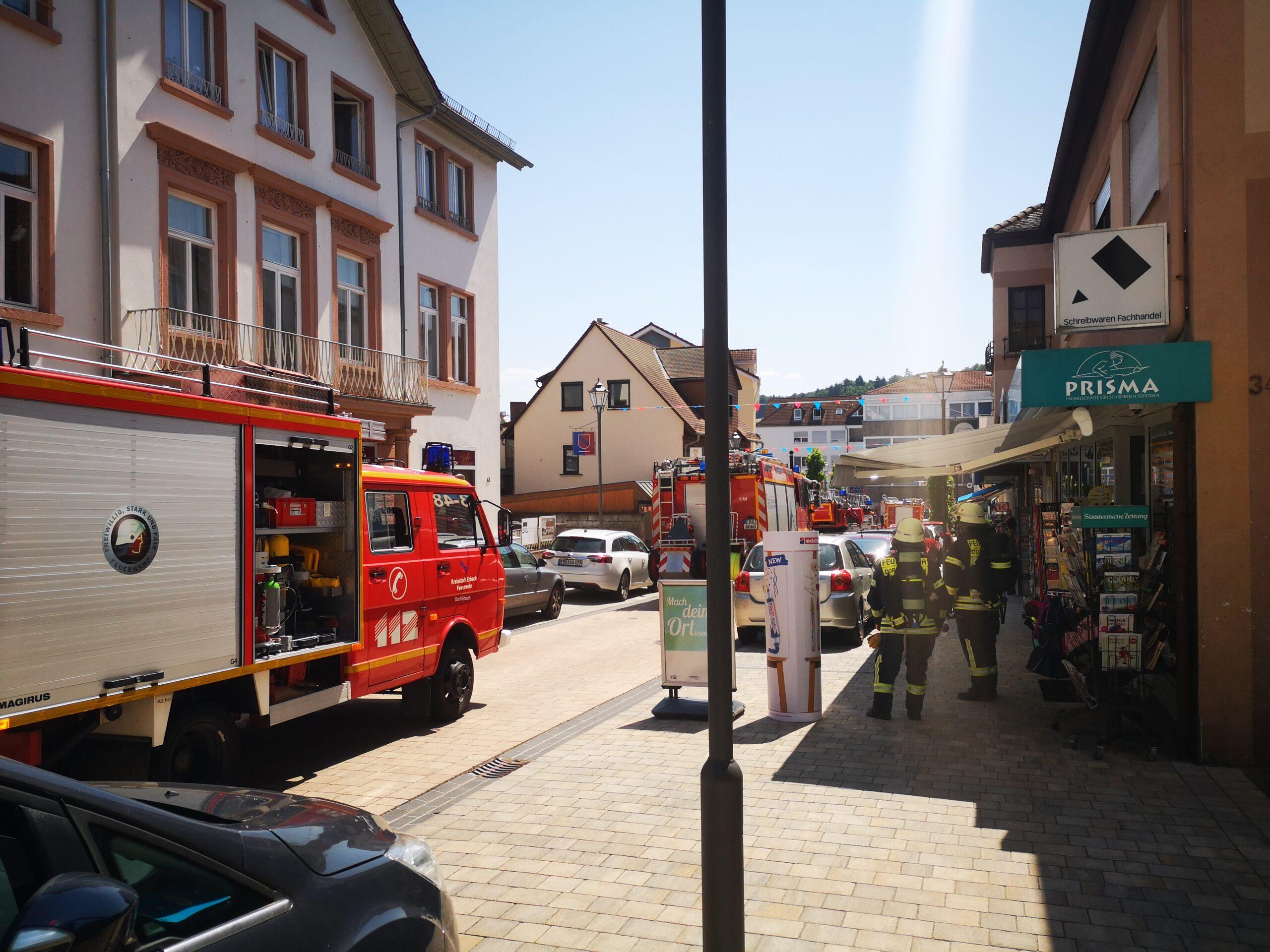 19.07.2021 Wohnungsbrand mit Menschenleben in Gefahr (21-21)